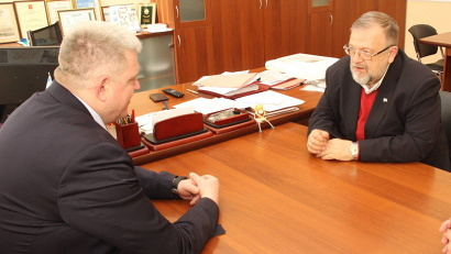 Алексей Андронов и Владимир Зорин обсудили вопросы реализации Стратегии государственной национальной политики в Архангельской области