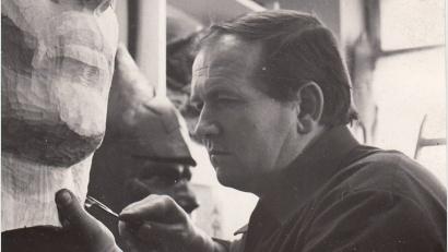 Валентин Михалёв – автор монумента героям-северянам, погибшим в годы Великой Отечественной войны на набережной Северной Двины