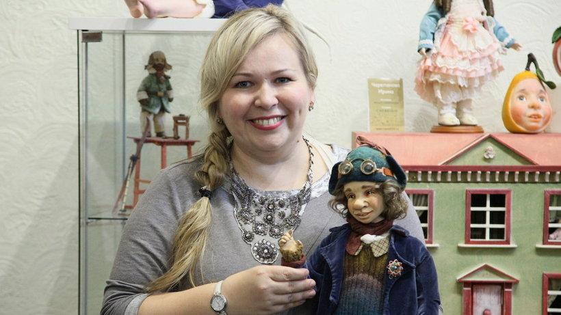 Кукольных дел мастер Ирина Черепанова