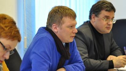 Один из участников рабочей группы - учитель истории архангельской гимназии №3 Михаил Копица