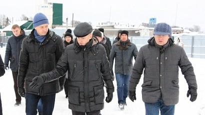 Специалисты федерального Минстроя, Минкульта России, аппарата Правительства РФ осмотрели строящиеся объекты и площадки хранения стройматериалов