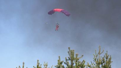 В области подготовлено 70 руководителей тушения лесных пожаров, 13 летчиков-наблюдателей, 78 парашютистов-пожарных