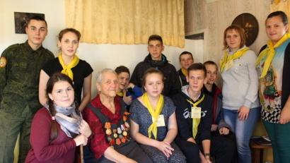 Молодежь Красноборского района тоже присоединилась к акции
