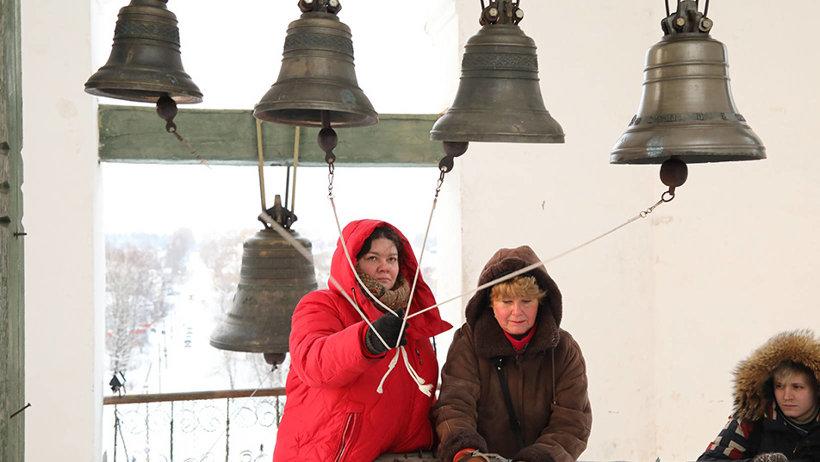 На фестивале были представлены несколько школ звонарского искусства, и можно было оценить всю красоту колокольных звонов