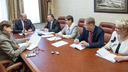 Во встрече приняли участие главы муниципалитетов и районного Собрания депутатов