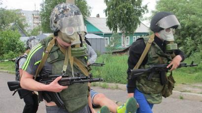Военно-полевые сборы максимально приближены к армейской службе