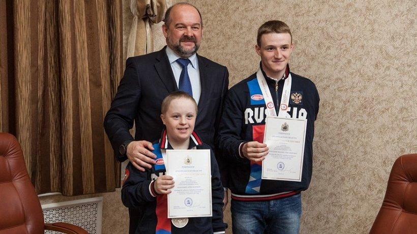 Игорь Орлов поздравил спортсменов с высокими результатами