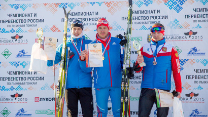 Дмитрий Ростовцев - золото, Александр Кулешов - серебро, Валерий Гонтарь - бронза
