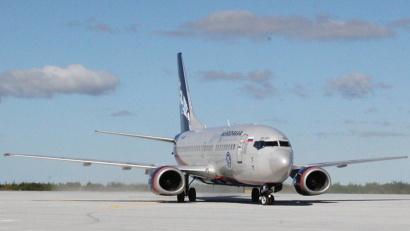 Регулярные полеты из Архангельска будут выполняться один раз в неделю, по четвергам, самолётами Boeing В 373-500