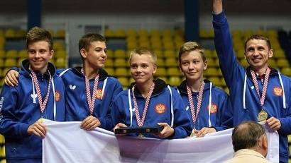 В составе сборной архангельский спортсмен завоевал золотые медали в командном первенстве