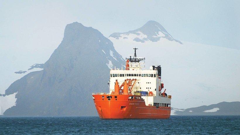 Научно-экспедиционное судно «Академик Трёшников». Фото предоставлено АО «ОСК»