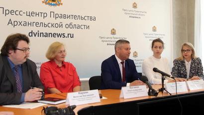 На пресс-конференцию были приглашены и непосредственные участницы итоговой аттестации