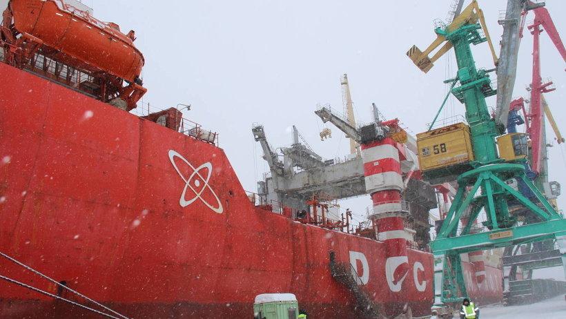 «Севморпуть» в Архангельском морском порту