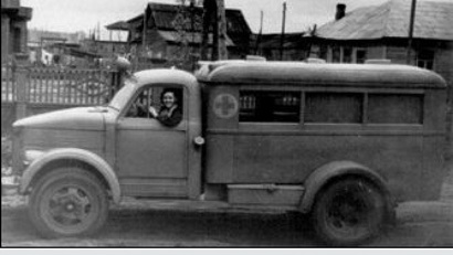 Первый автомобиль скорой медицинской помощи. Фото предоставлено министерством здравоохранения Архангельской области