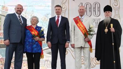 Звания «Почётный гражданин МО «Котлас» удостоены Дина Кокорина и Анатолий Костин