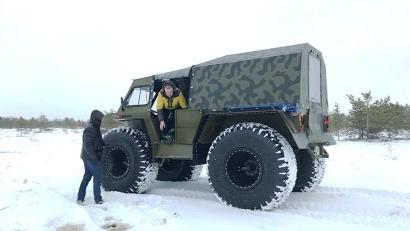 Специалисты центра природопользования уже протестировали новое транспортное средство