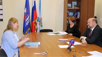 Губернатор предложил Ирине Самойловой стать его общественным представителем в Новодвинске