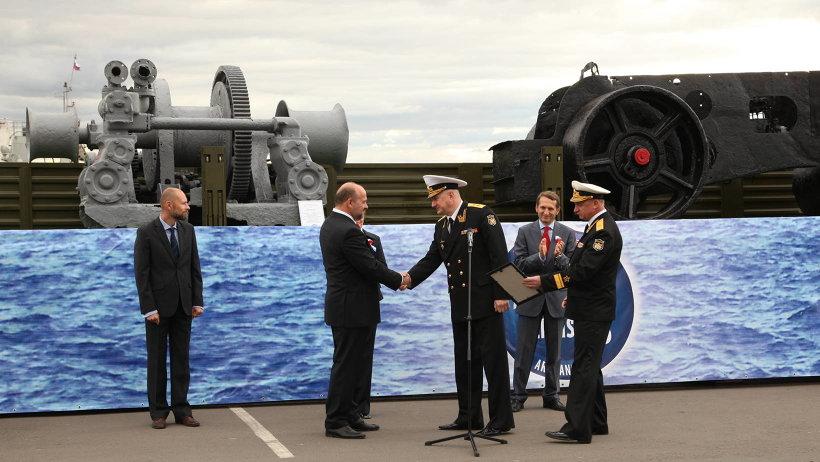 Исторические экспонаты переданы Северному морскому музею