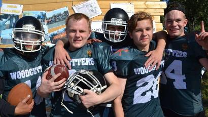 Архангельская команда американского футбола «Лесорубы»
