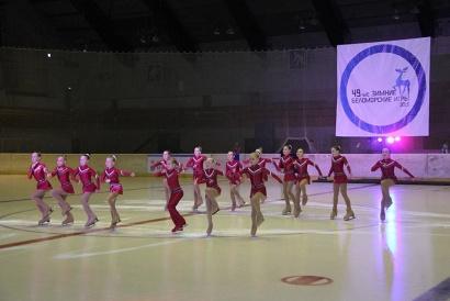 Открыли 49-ые «Беломорские игры» показательные выступления фигуристов