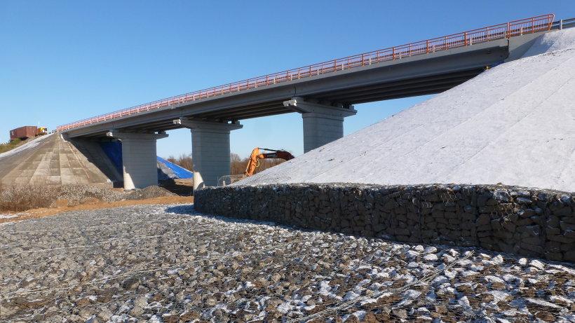Мост через Ендюгу. Фото пресс-службы «Упрдор «Холмогоры»