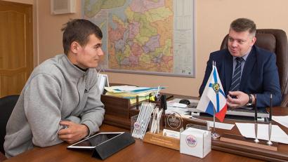 Валерий Кравченко и Андрей Багрецов