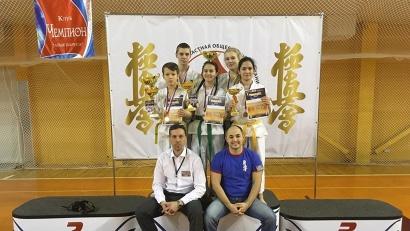 Успешное выступление на зональном турнире обеспечило нашим спортсменам участие в первенстве России