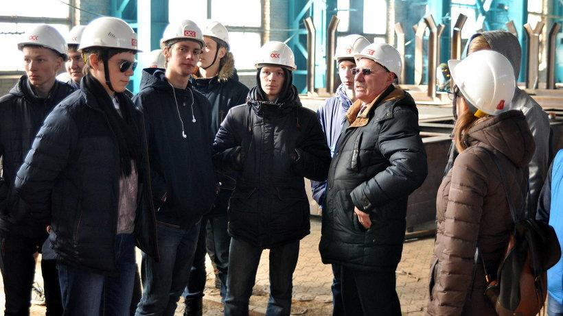 Цеха «Красной Кузницы»  посетили первокурсники Северного техникума транспорта и технологий