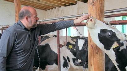 По словам Игоря Орлова, агрофирма «Вельская» должна стать образцовым сельхозпредприятием региона
