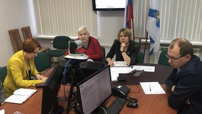 Совещания в формате видео-конференц-связи с федеральным ведомством проводятся еженедельно