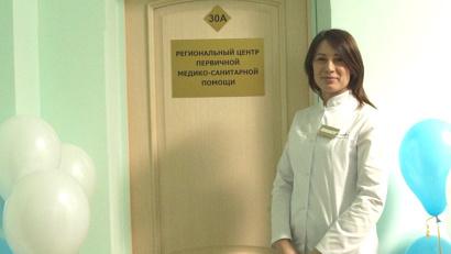 Руководитель Регионального центра первичной медико-санитарной помощи Любовь Абдуллаева