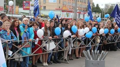 Сегодня для студентов Поморья проходит праздничная акция «Архангельск – университетский город»