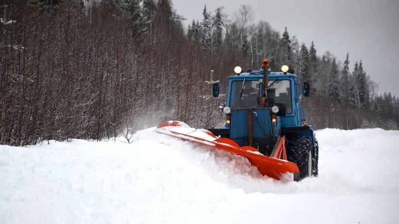 Общая протяжённость автомобильных зимников Архангельской области – 354 километра