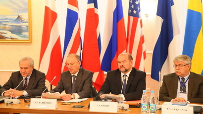 Russia was represented by the RF Security Council Secretary Nikolay Patrushev and heads of the Russian Arctic regions.