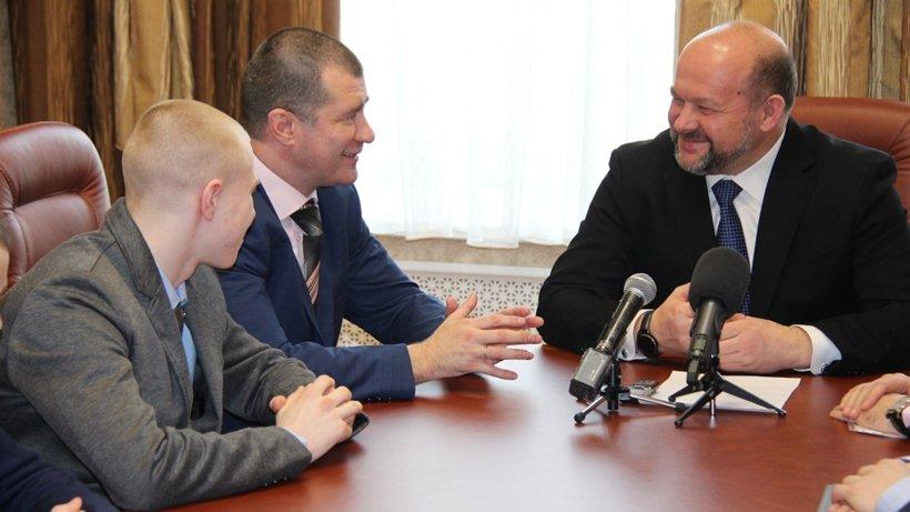 Игорь Орлов обсудил с боксёрами Поморья перспективы на 2016 год