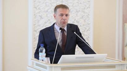 На «Правительственном часе» в АОСД выступил министр ТЭК и ЖКХ Архангельской области Андрей Поташев