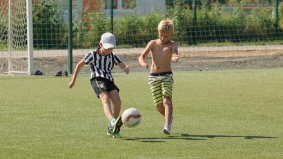 Спортивный комплекс в посёлке Березник никогда не пустует