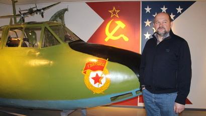 Игорь Орлов в Норвежском национальном музее авиации