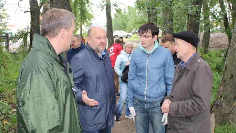 Шефство над будущим парком готов взять на себя Архангельский городской штаб школьников