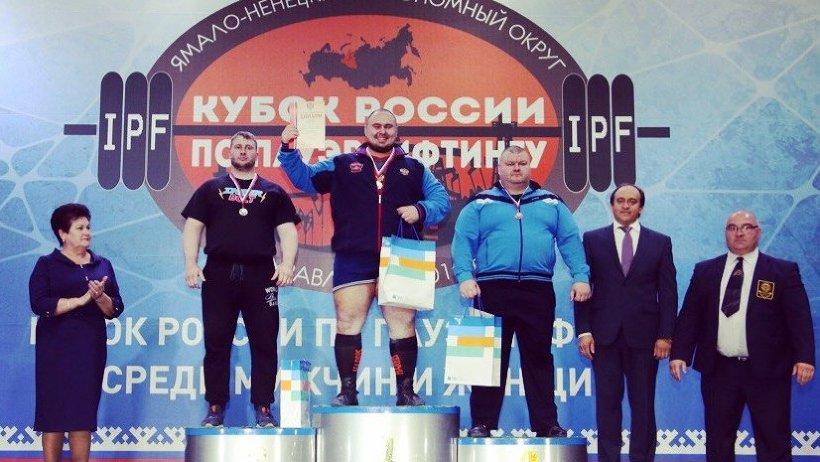 Пауэрлифтер изАрхангельска— чемпион Кубка Российской Федерации