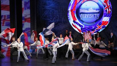 Яркие музыкальные и хореографические номера стали отражением героических страниц Великой Отечественной войны