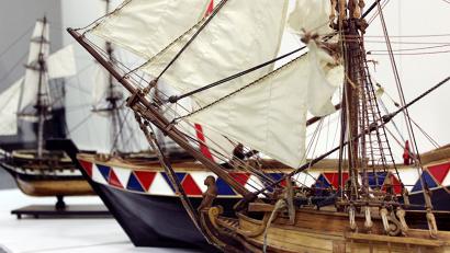 Выставка позволит взрослым и детям почувствовать себя корабельными мастерами