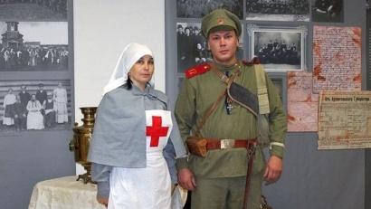 У посетителей музея есть возможность познакомиться с жизнью Архангельской губернии в годы Первой мировой