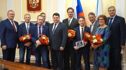 Региональные награды и награды министерства здравоохранения Российской Федерации в этом году получили более пятидесяти человек