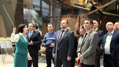 Оформление экспозиции произвело огромное впечатление на гостей из Архангельска