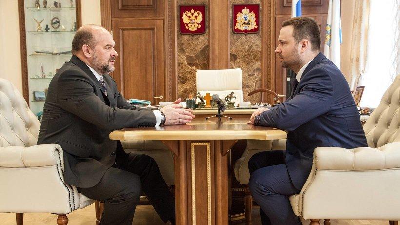 Фото пресс-службы Губернатора и Правительства Архангельской област