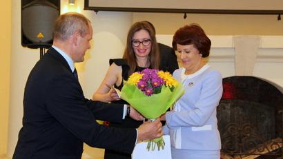 Министр имущественных отношений Ирина Ковалёва отметила профессионализм своих сотрудников