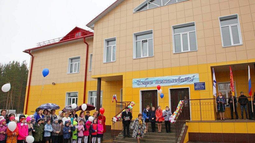 Новая школа в Судроме
