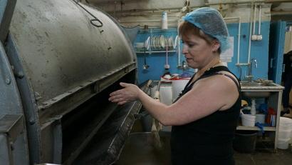 Пока на Соловках пекут хлеб на оборудовании, оставшемся с советских времён. Фото Елены Доильницыной