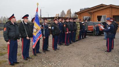 Представители Архангельского казачества привели к присяге пополнение